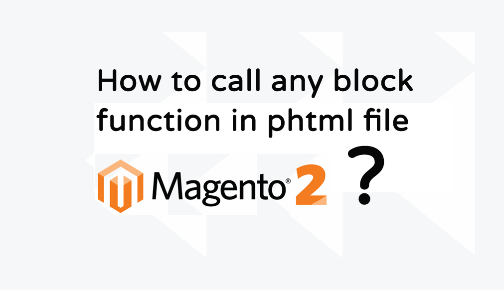 magento block function call
