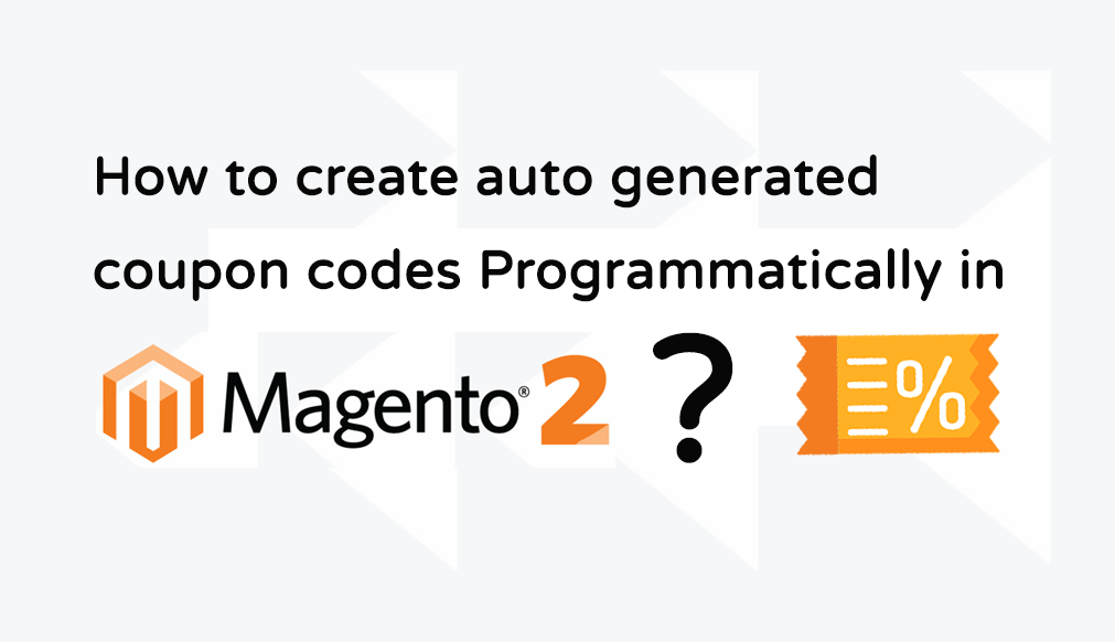 Programmatically create auto generated coupon codes in